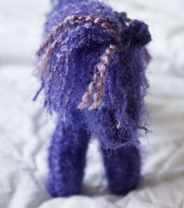 Violet - Wild Horse Knitted Toy