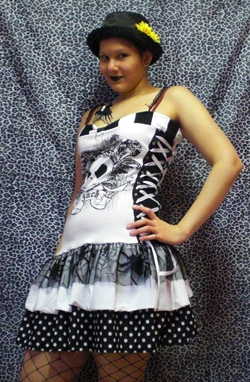 Nightmare before christmas dress by maraleopard on etsy