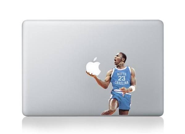 Macbook 13 inch decal sticker NORTH CAROLINA basketball Apple art for Apple Laptop