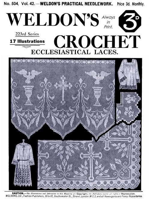 CROCHET PATTERNS ETC