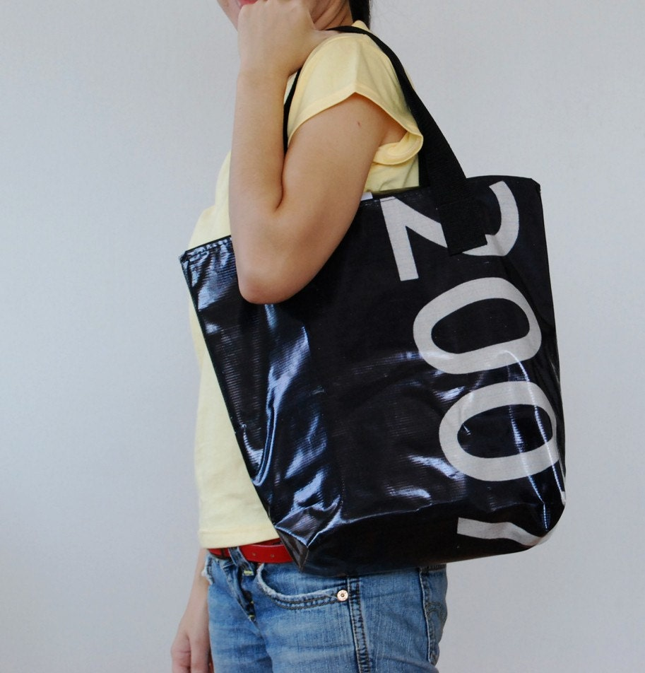 Eco Recycled Billboard Banner Casual Tote No. 2
