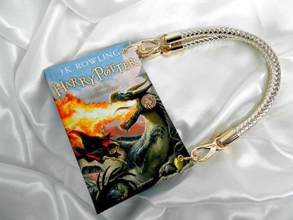 Harry Potter Handbag  Harry Potter and the Goblet of Fire  Harry Potter Book Cover Bag  Harry Potter Purse  Harry Potter Book Clutch