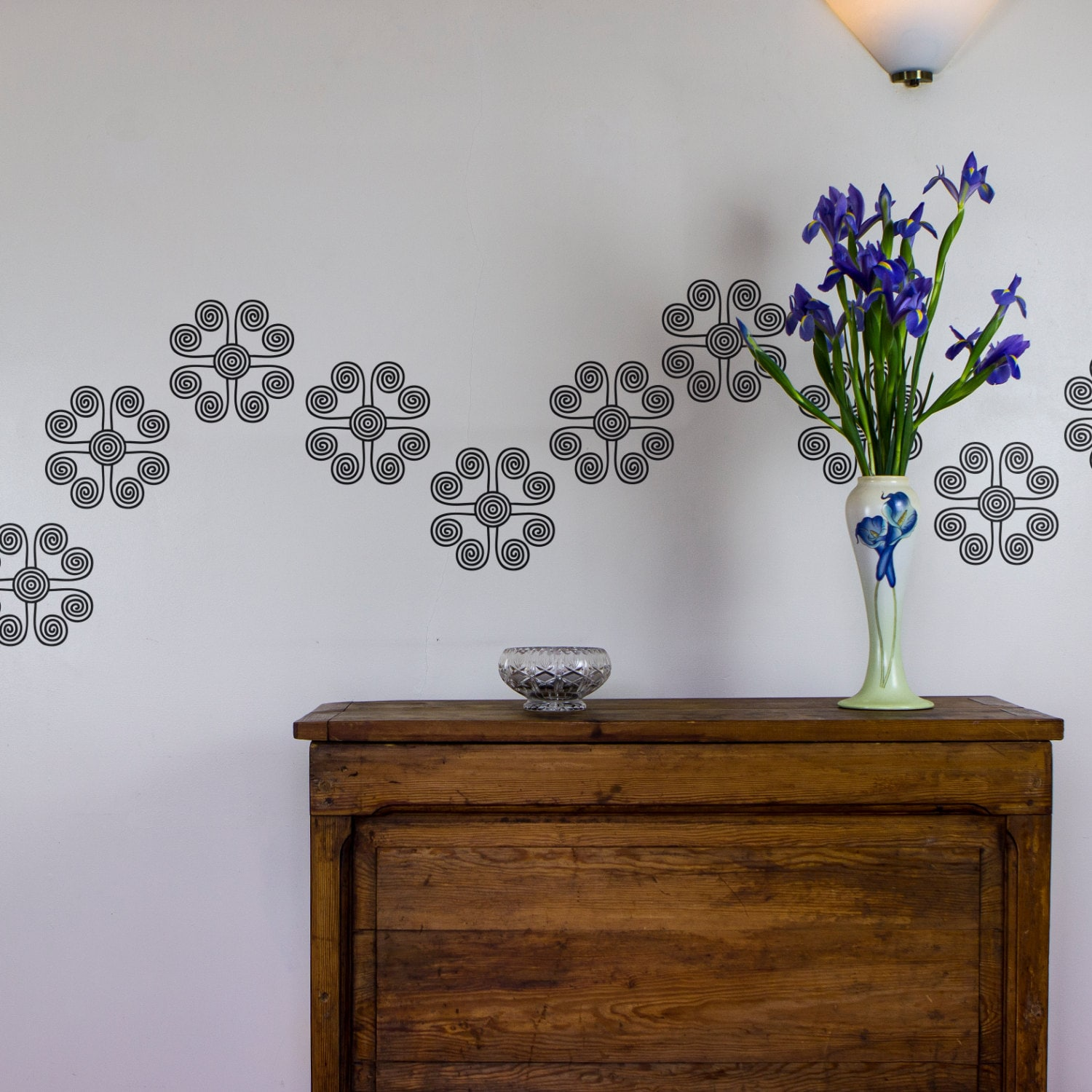 Swirl Wall Art Decal Pack