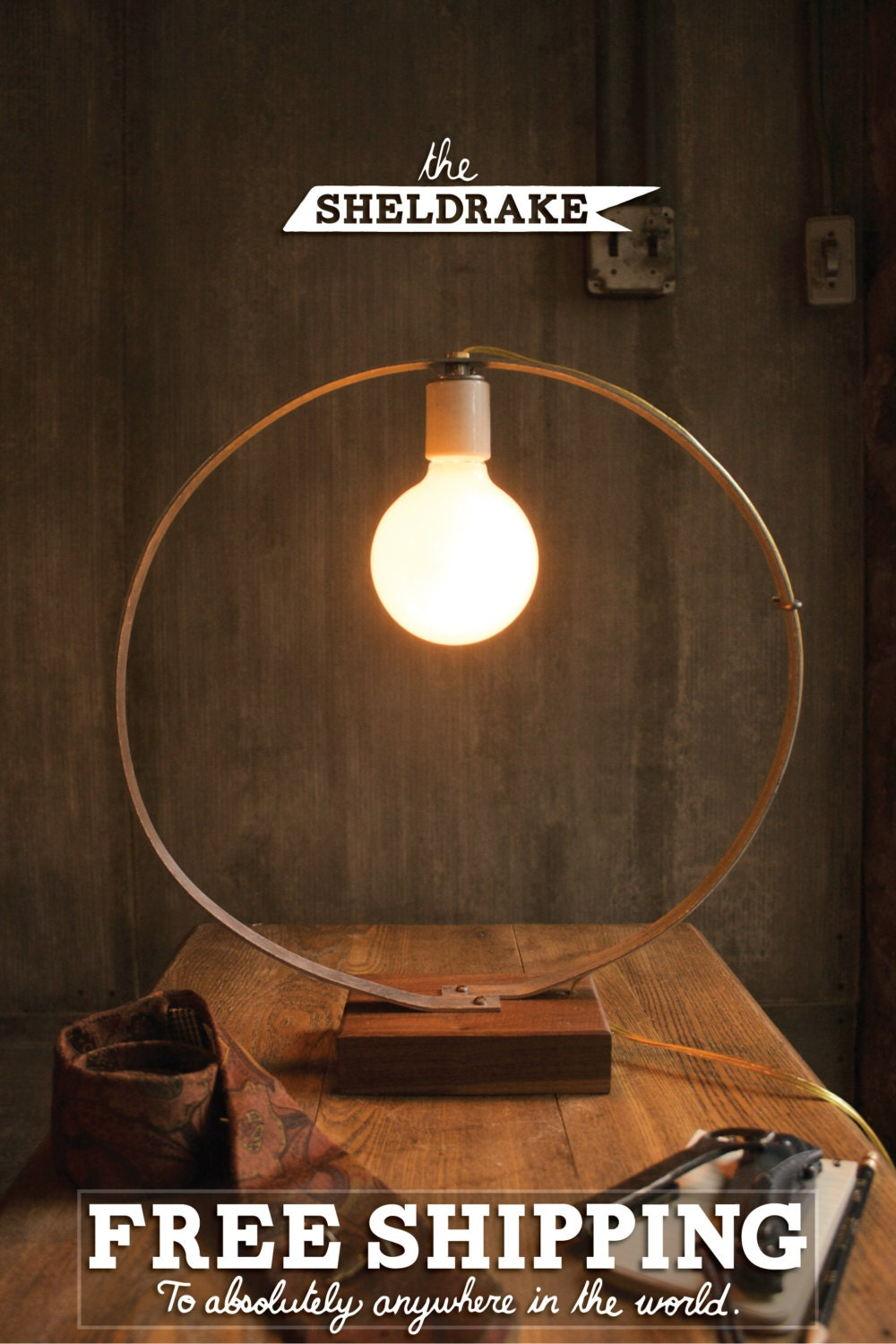 Items Similar To Table Lamp Desk Lamp Cool Gifts For Men