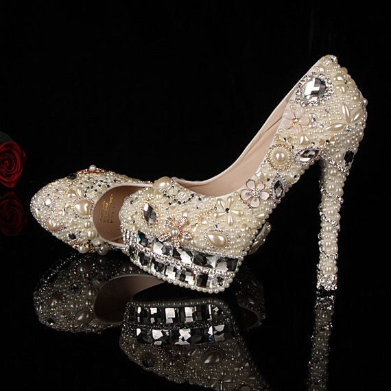 Bling Wedding shoes unique wedding shoes and crystal bridal shoes