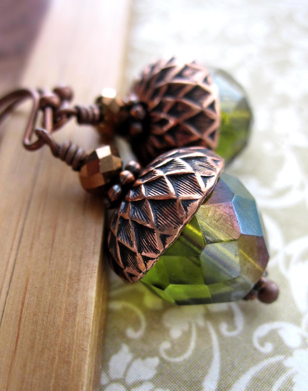 Wedding Gift Ideas For Nature Lovers : ... Nature Jewelry, Gift for Nature Lover Gardener, Fall Wedding