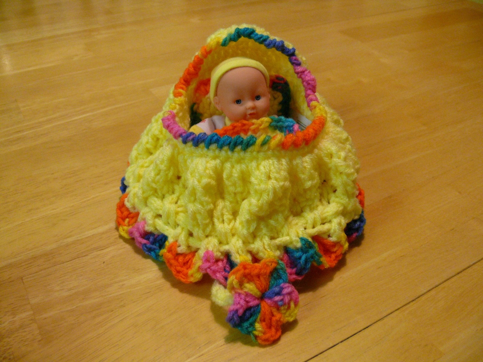 Free Crochet Pattern Cradle/Bassinet Purse - Crocheting Patterns