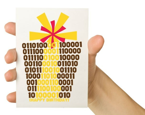 Binary Happy Birthday