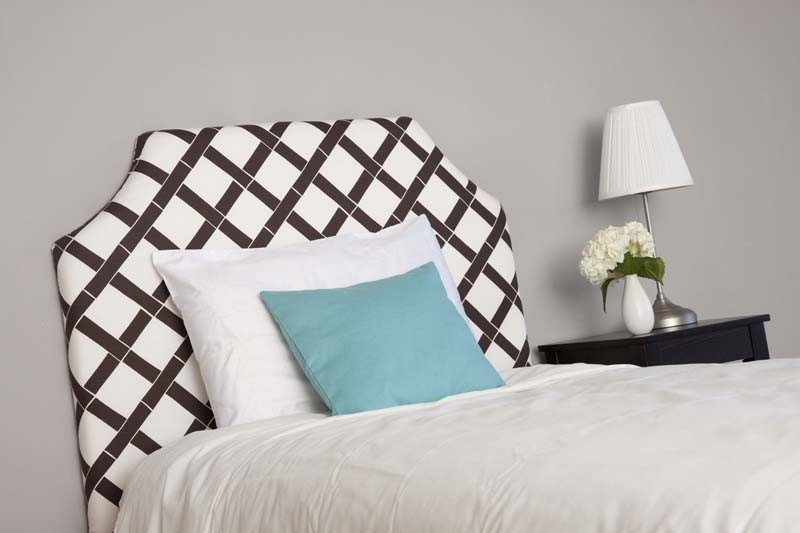 Custom Upholstered Twin Headboard - Addison