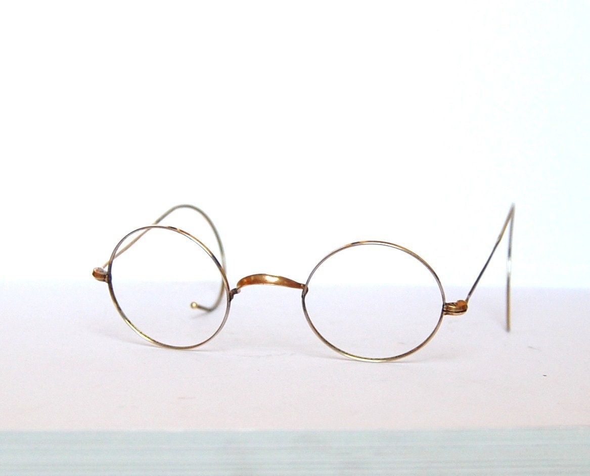 1960s vintage john lennon eyeglasses frame from by retroeyewear