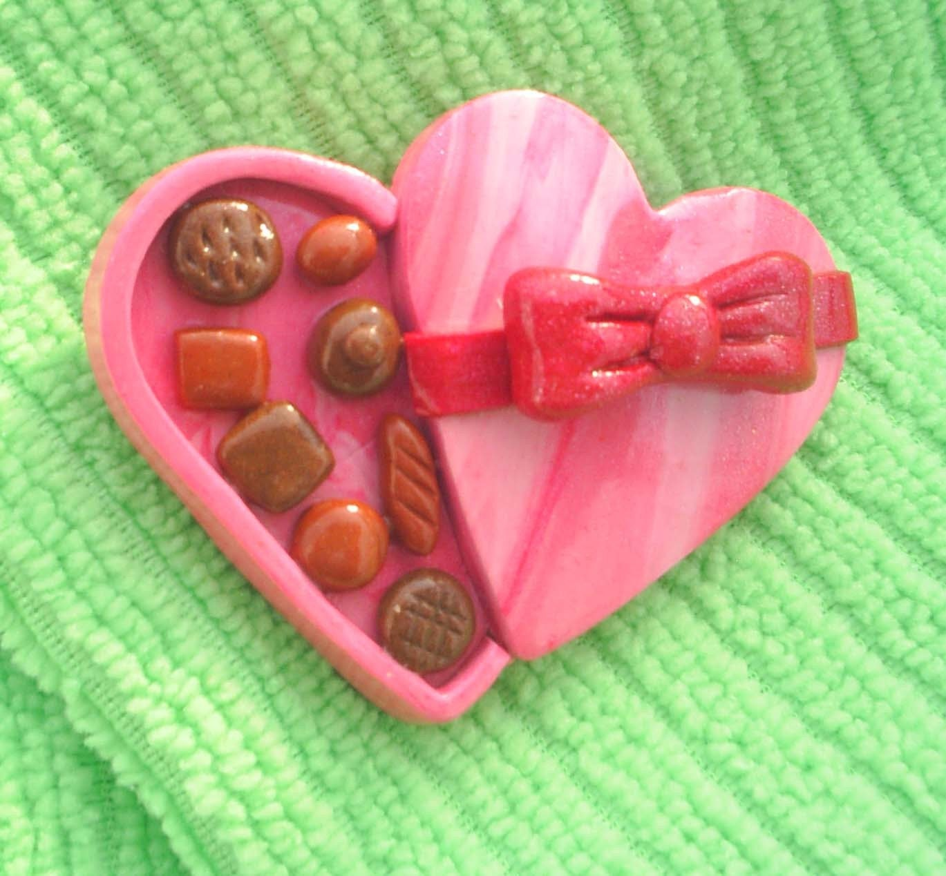 Box of Candy Pin -v078