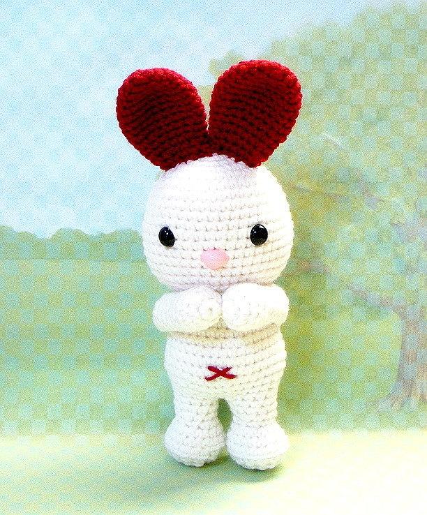 Amigurumi Bunny Ears : Amigurumi pattern - LOVE Ears Bunny - Crochet Amigurumi ...