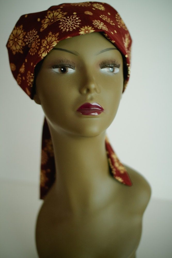 chemo scarf cancer turban hat for alopecia hair by