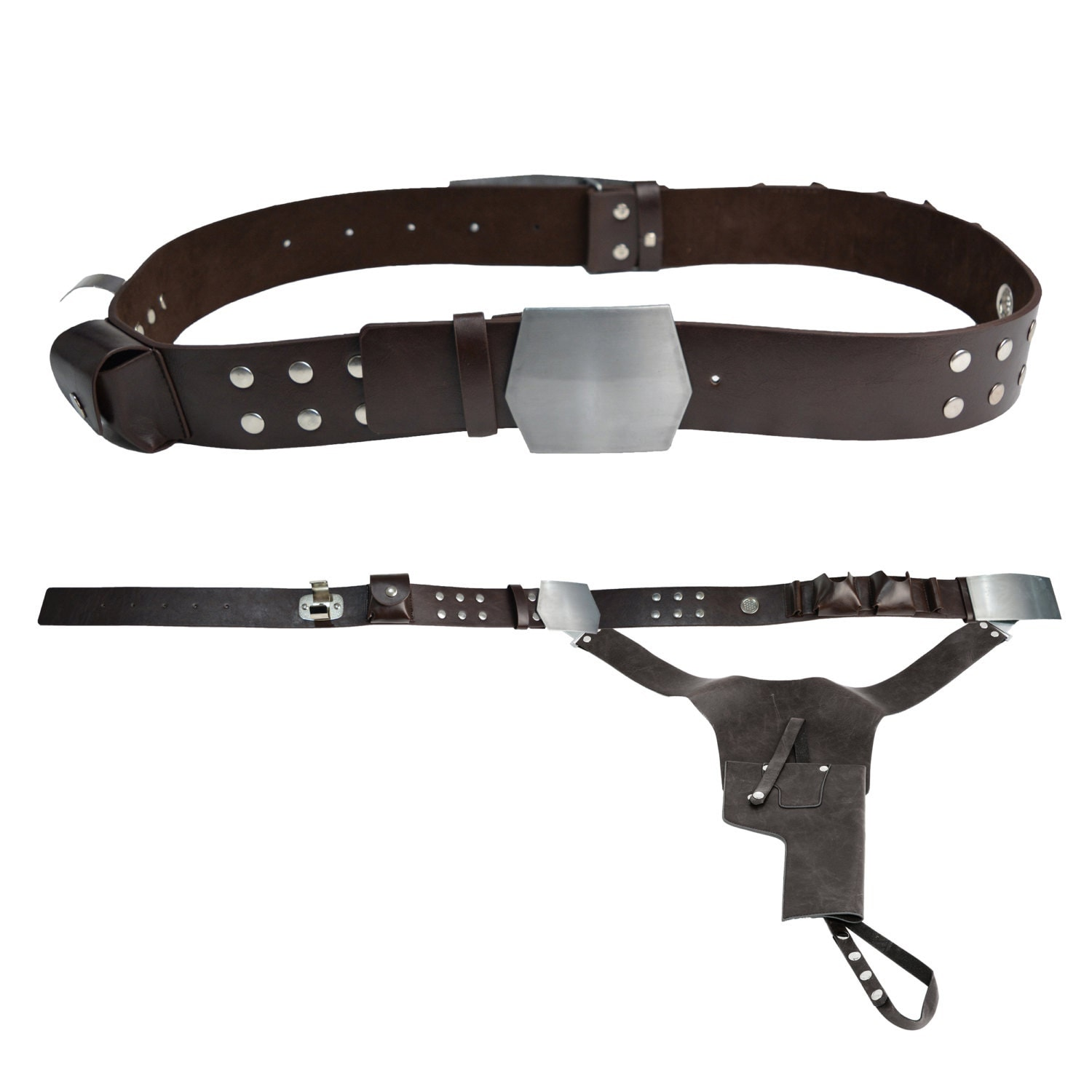Star Wars Han Solo Replica Belt and Holster  JR 1406