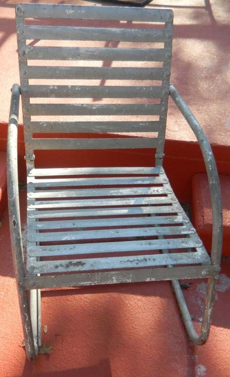 Modern Metal Garden Chair