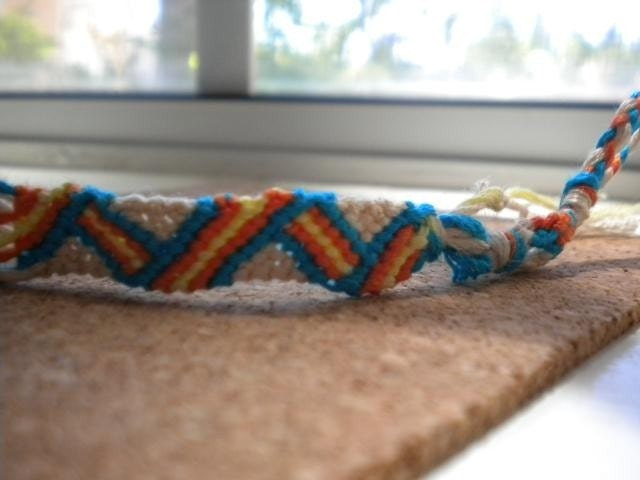 Friendship Bracelet- Folded Ribbon