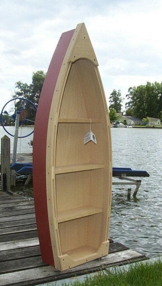 Amish Handmade Nautical Rowboat Bookcase | eBay