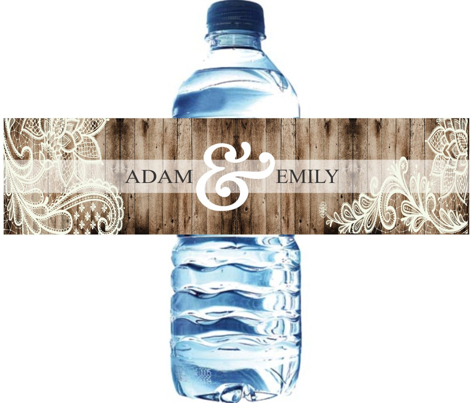 100 wedding water bottle labels wedding water labels custom water