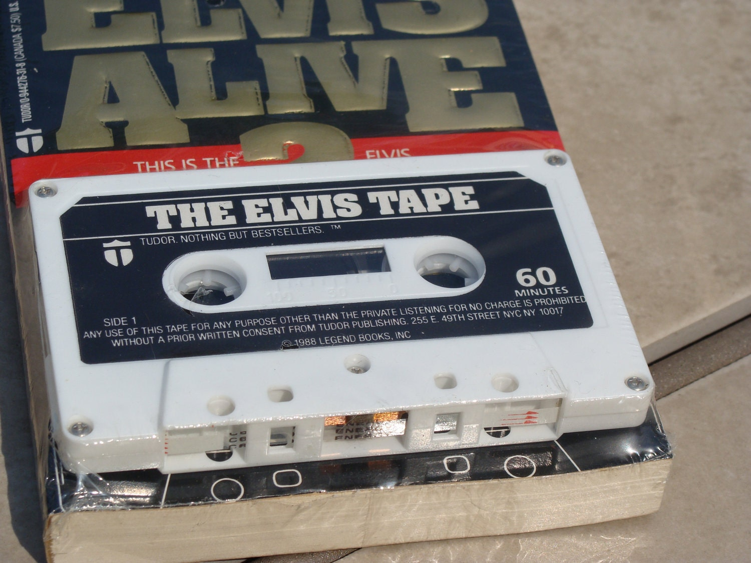 Is Elvis Alive- Book and cassette combo