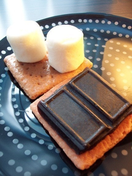 READY TO SHIP for Christmas - S'mores - vegan soap