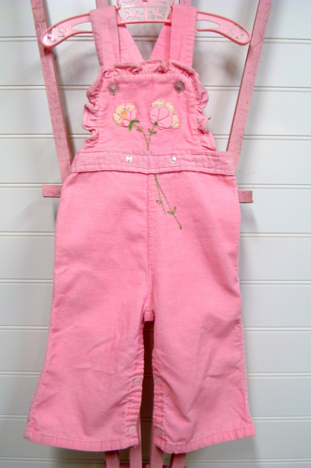 Vintage Baby Clothes Baby Girl coveralls by ceUponADaizy