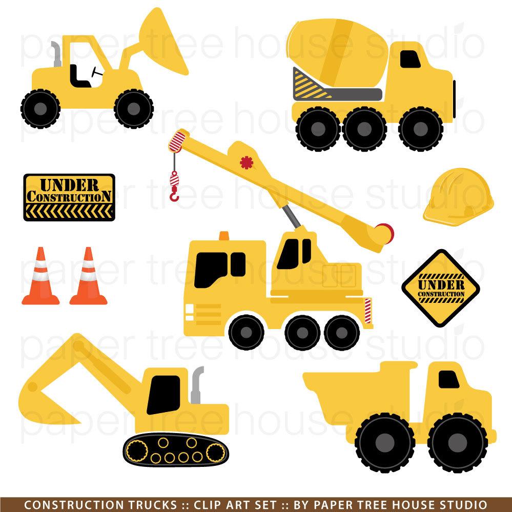 yellow truck clipart - photo #38