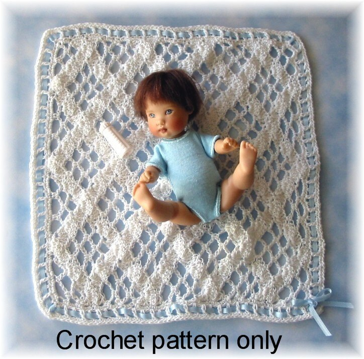 Crochet pattern PDF for 5-6 inch baby doll by ...