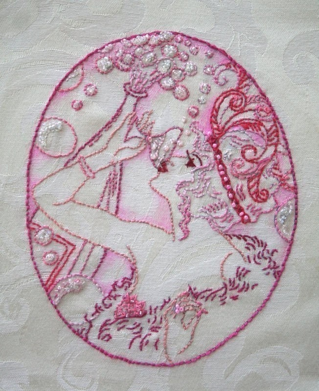 Hand Embroidery Pattern Design