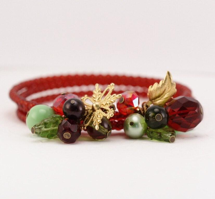 Festive Posy Bracelet