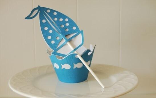 Sailboat Cupcake Liners