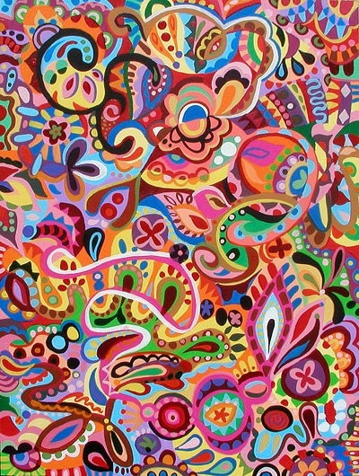 Colorful Wallpaper on Colorful Trippy Images