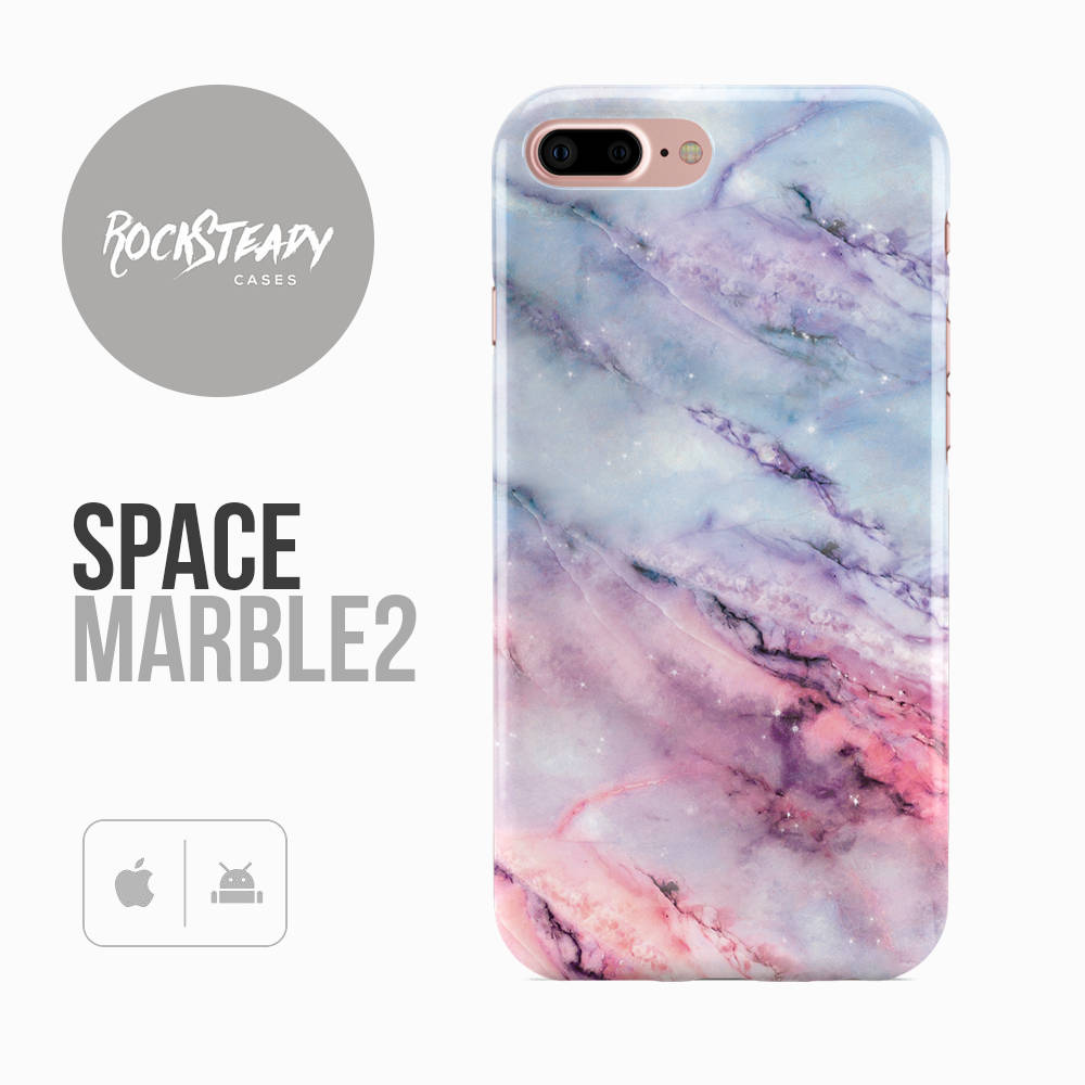 Marble Phone Case iPhone 7 Plus 6 6s SE Samsung Galaxy S8 S7  S6 Cover 5S 5C Pink Blue phone case Space Marble designer cover
