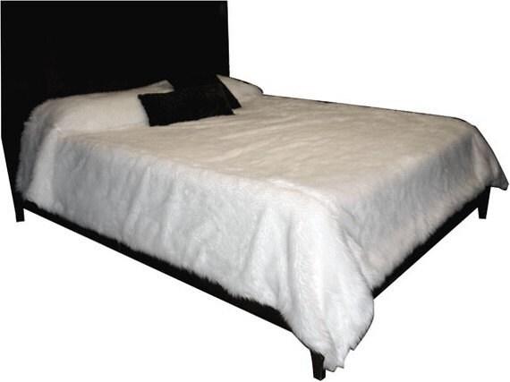 Faux Fur Bedspread