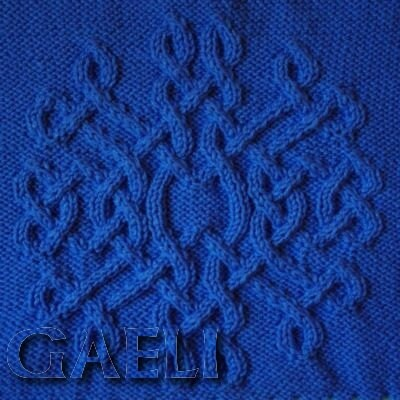 Celtic Snowflake 03 Knitting Pattern by CelticPatterns on Etsy
