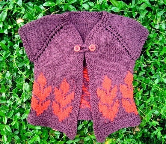 Items similar to KNITTING PATTERN - Sweet Olivia Baby Cardigan on Etsy