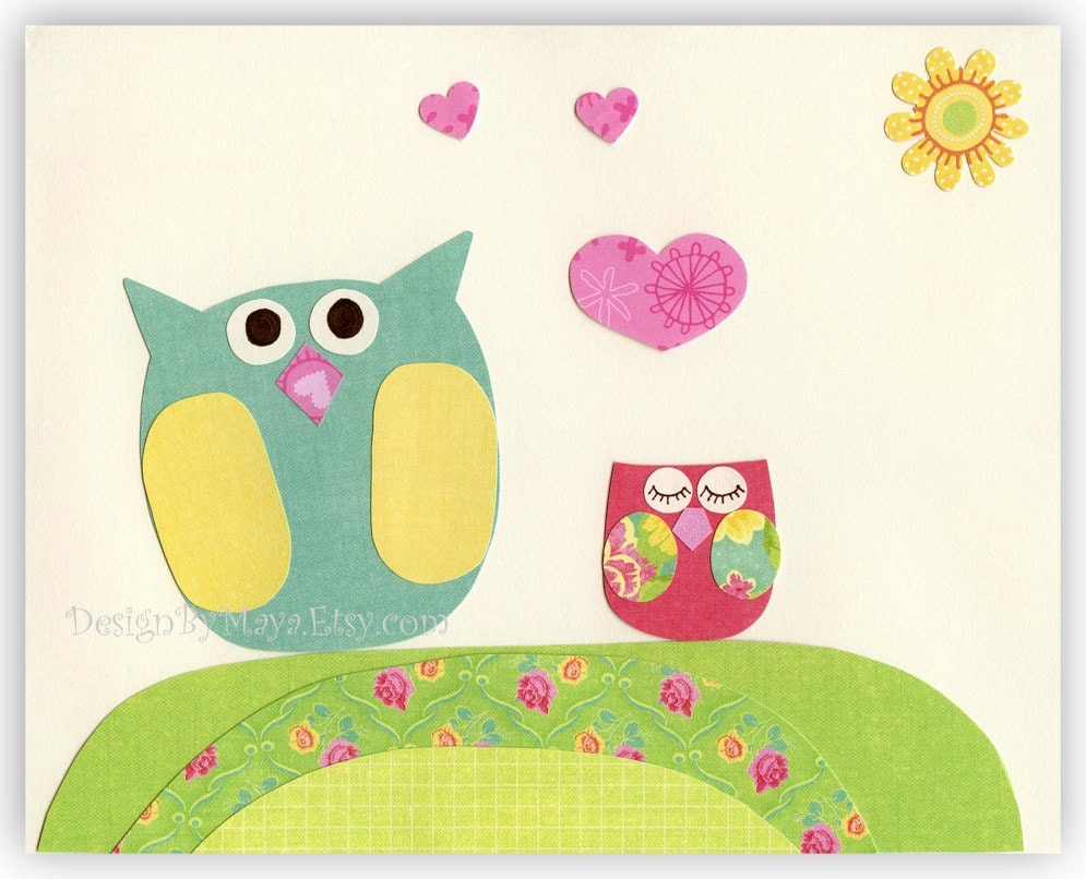 Owl baby room decorations photograph baby room decor nurse for Baby owl decoration