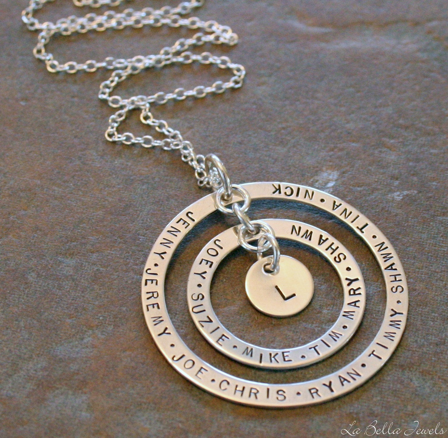 Labella Hand Stamped Jewelry Giveaway W 2 Winners