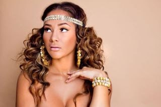 Basketball Wives Poparazzi Inspired Sequin Hoops