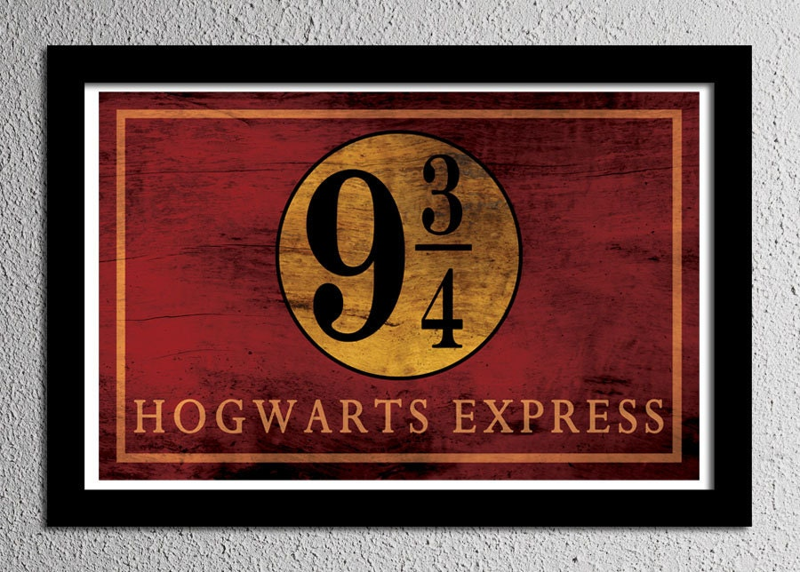 It's just a photo of Transformative Hogwarts Sign Printable