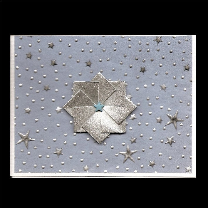 Shining Stars Notecard