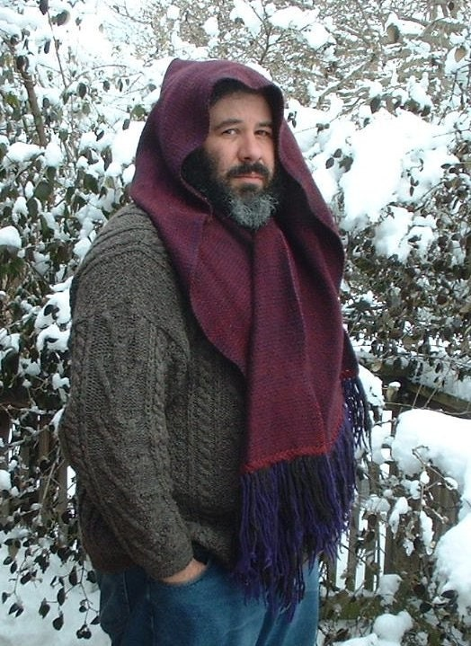 Custom Made Hooded Scarf/Stole