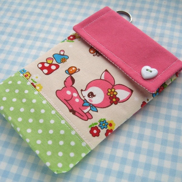 Kawaii Retro Deer Gadget Case