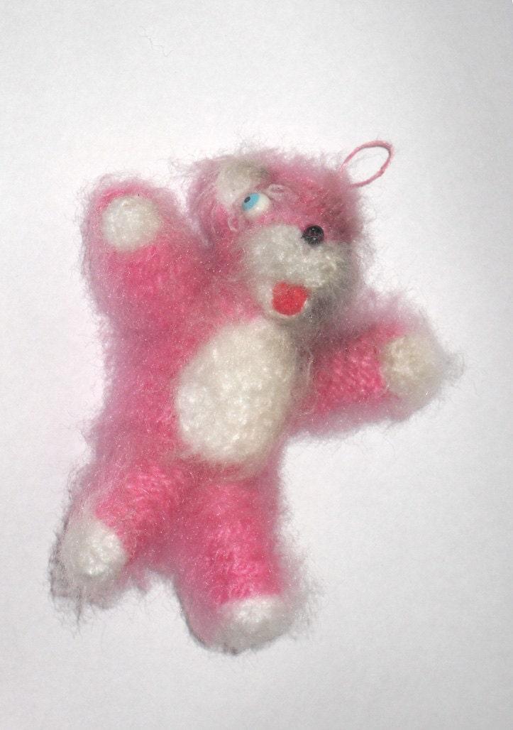 Amigurumi Pink Bear : Mini Breaking Bad Pink Teddy Bear Amigurumi Crochet by ...
