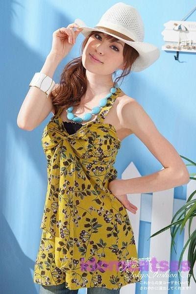 1Name : زرد CherryHalter لباس گردن 173
