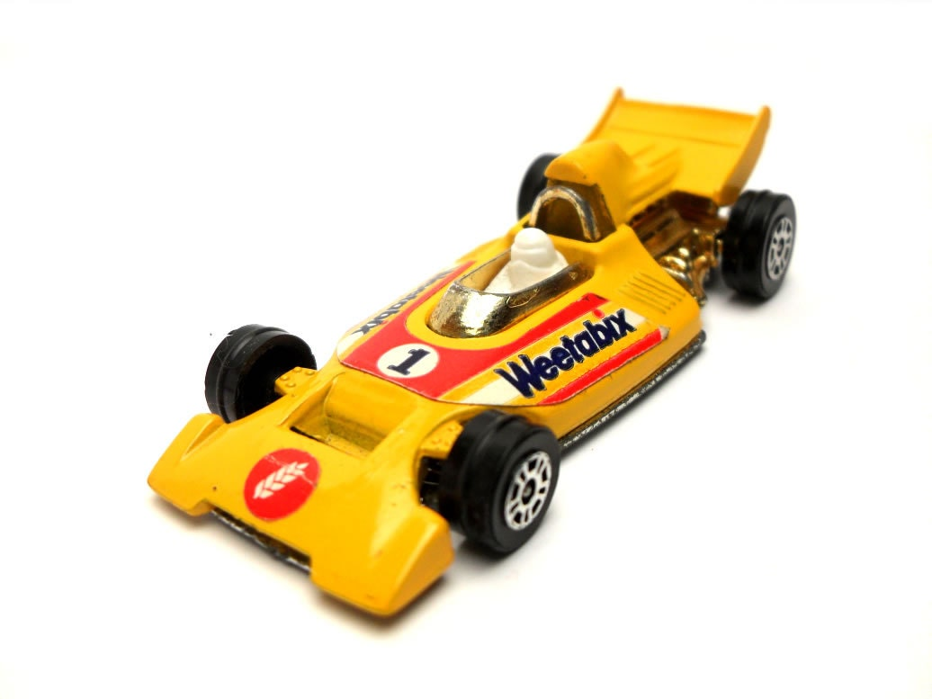 1970s Vintage Corgi Juniors 22 Formula 1 Racing Car Toy Collectible Made in England