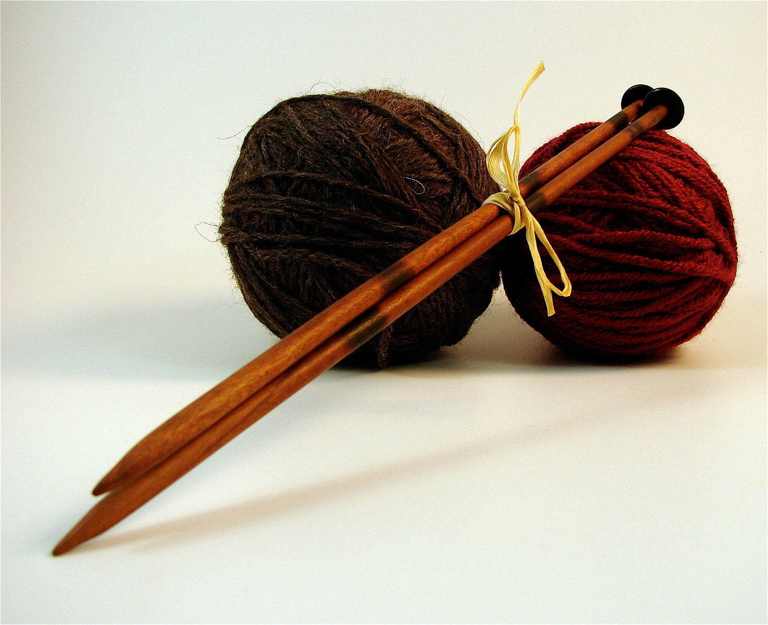 Wooden Knitting Needles : Request a custom order and have something made just for you.
