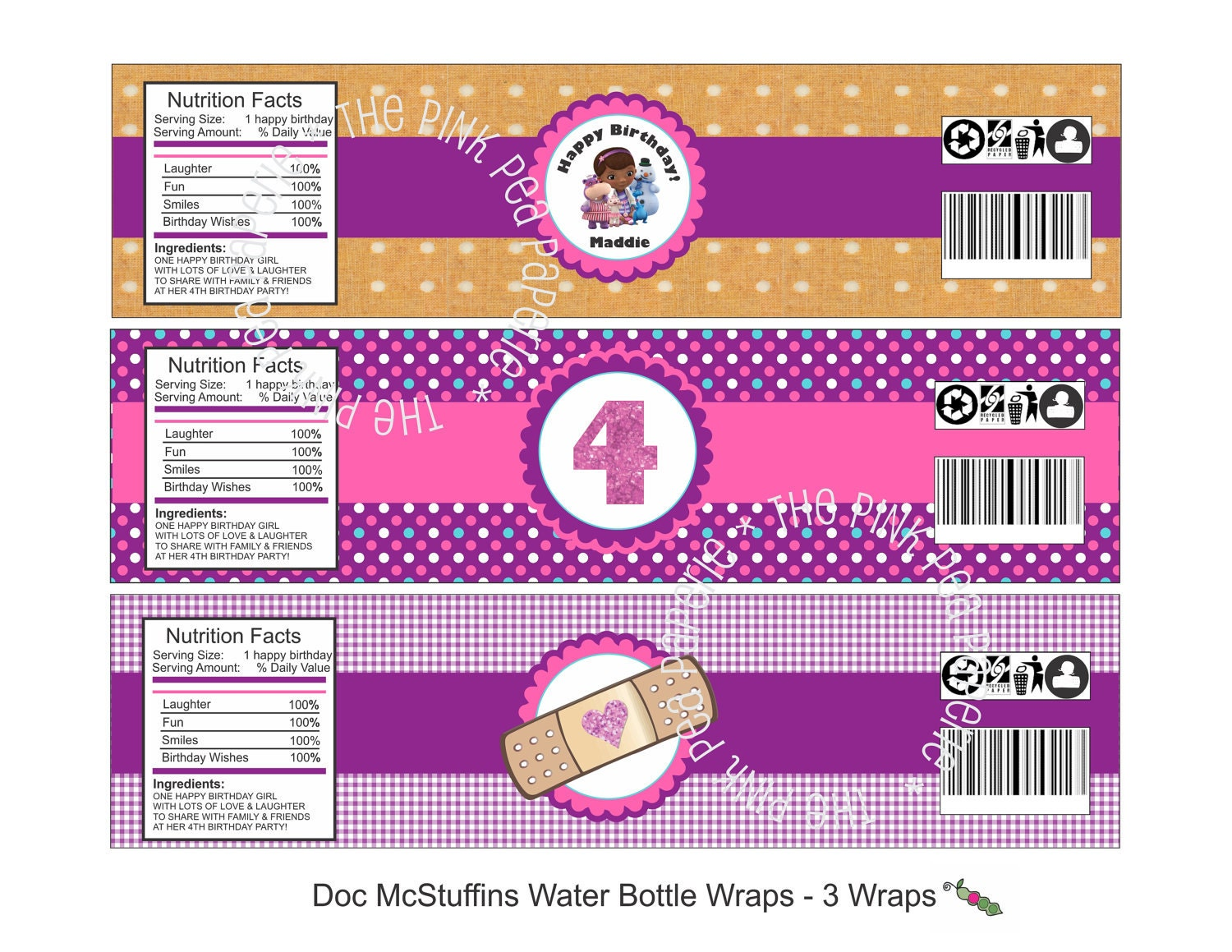 Satisfactory image for doc mcstuffins printable labels
