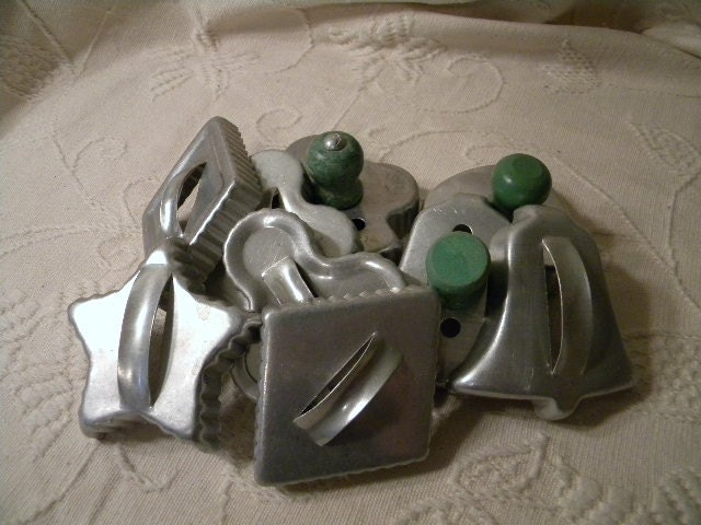 Vintage cookie cutter collection