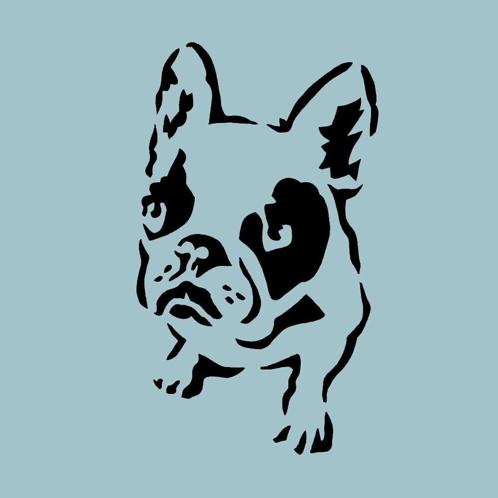 Stenciled dogs | Good Bloggie!