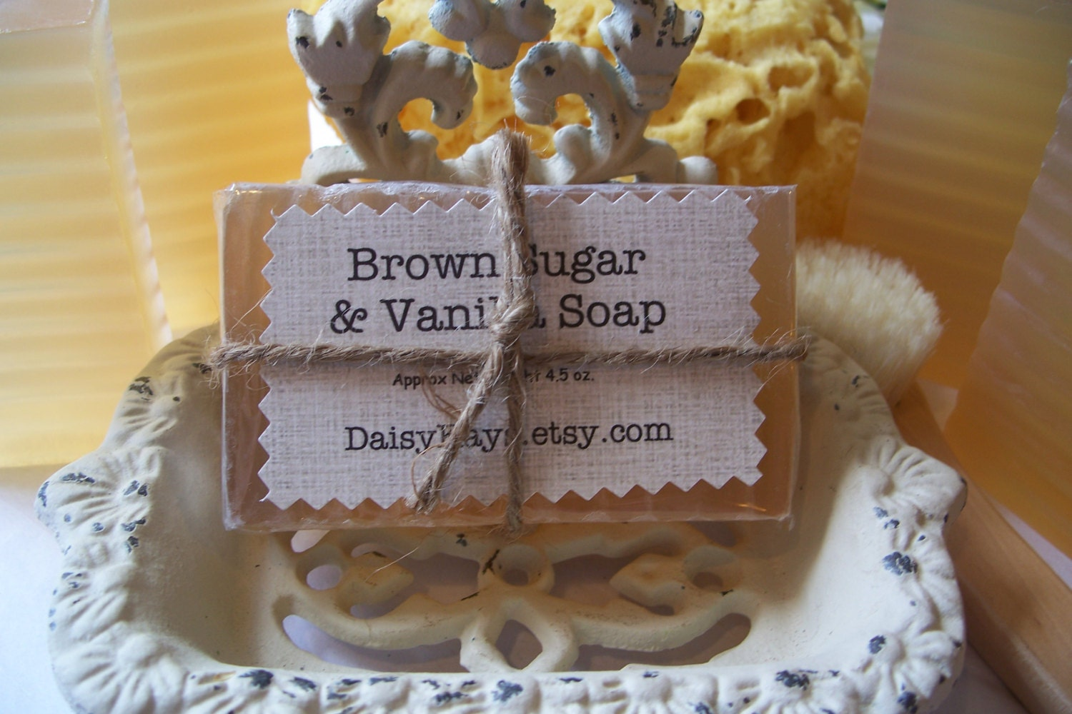 Brown Sugar and Vanilla Soap ~ Fall, Autumn, Holidays, Christmas Gift, Favors, Parties, Home, Decor, Bath, Birthday, ACOFT,  OFG team, WIB - DaisyKays